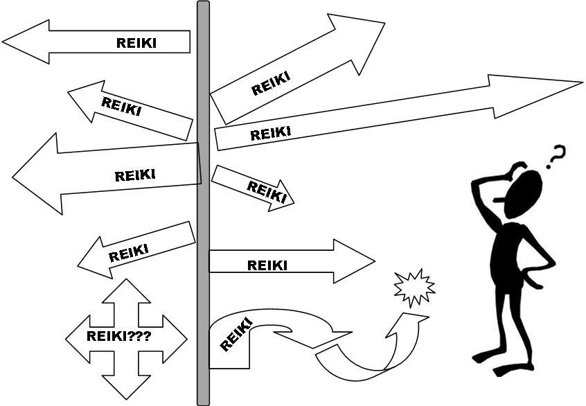 Muchos tipos de Reiki diferentes...